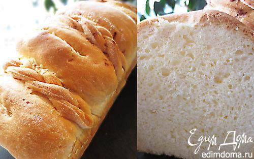 Рецепт Домашний хлеб, приготовленный в духовке