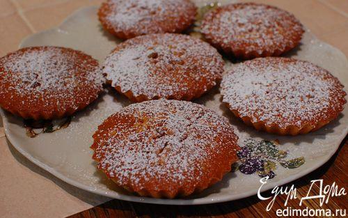 Рецепт Лимонные тарталетки с кедровыми орешками