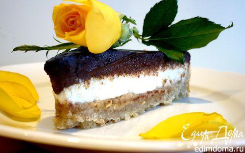 Рецепт Шоколадно-арахисовый тарт для Ириши burra.salvia «Поле чудес»