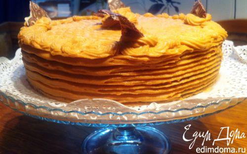 Рецепт Карамельный торт от Фаркоса Вилмоса (Karamell torta)