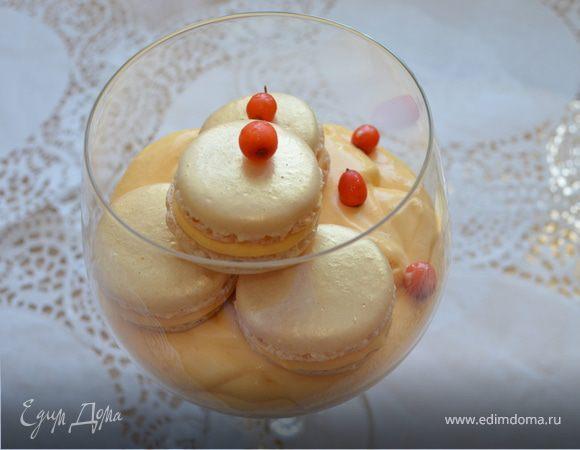 Облепиховая и лавандовая начинки для макаронс