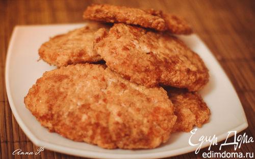 Рецепт Котлетки из крабовых палочек с сыром