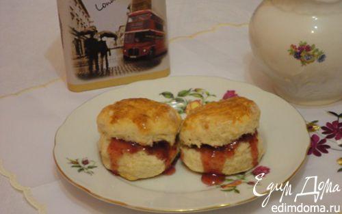 Рецепт Кефирные сконы (Buttermilk scones)