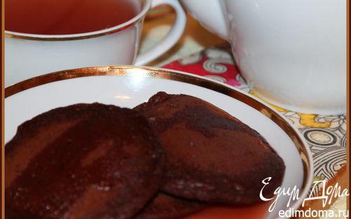 Рецепт Шоколадные оладьи (постное меню)