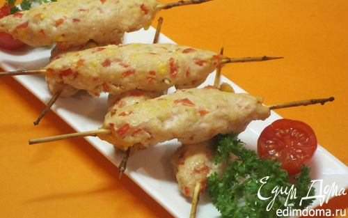 Рецепт Турецкий кебаб со сладким перцем