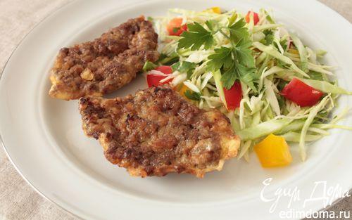 Рецепт Отбивная из говяжьей печени