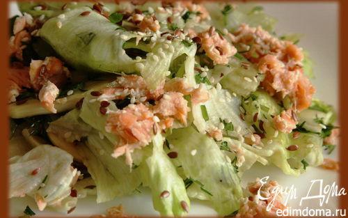 Рецепт Легкий и сытный салат (для Анастасии)