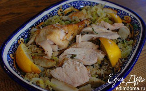 Рецепт Пилаф с цыпленком и топинамбуром