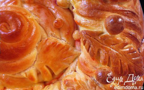 Рецепт – Пасхальный пирог (фигурная выпечка)