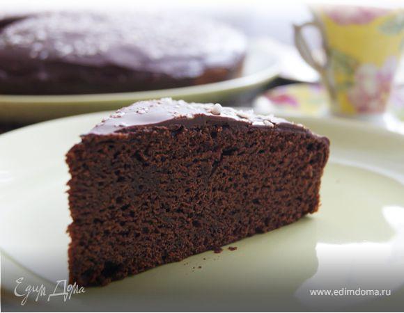 Шоколадный кекс на кокосовом молоке