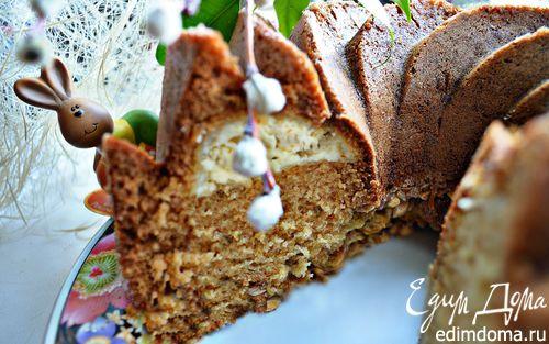 Рецепт Пасхальный кекс со сливочной начинкой