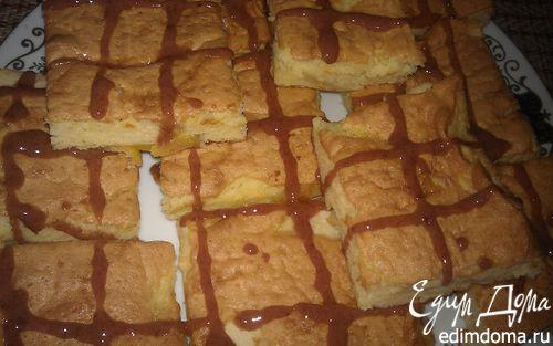Рецепт Пирог с яблоками и персиками