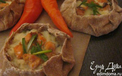 Рецепт Карельские пирожки с картофелем и рыбой
