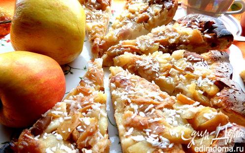 Рецепт Яблочно-грушевый тарт Татен (tarte Tatin)