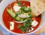 Острый фасолевый суп по-мексикански