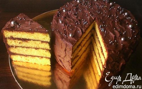 Рецепт Золотистый торт