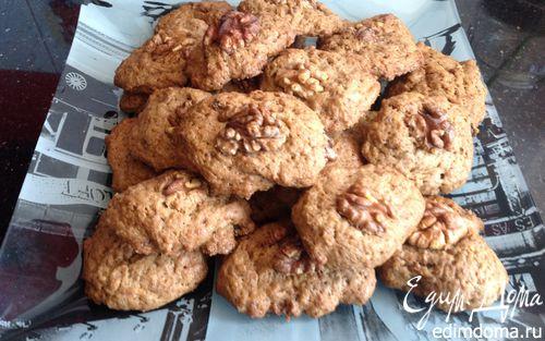 Рецепт Шоколадное печенье с орешком