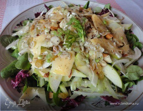 """Весенний салат """"Зеленые витамины"""""""
