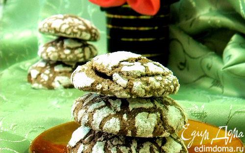 """Рецепт Печенье """"Шоколадные трещинки"""""""