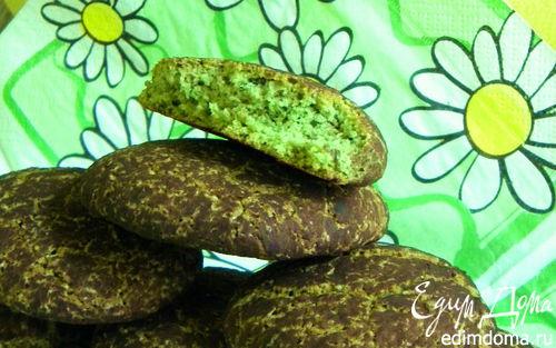 Рецепт Французское мятное печенье