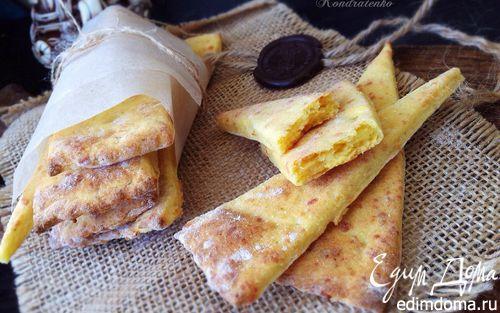 Рецепт Картофельное печенье с сыром и прованскими травами