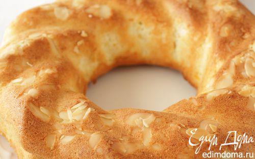 Рецепт Апельсиновый кекс на белках