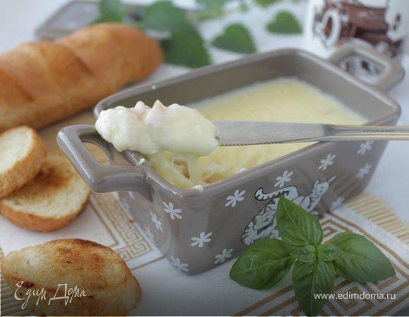 Плавленый сыр с беконом