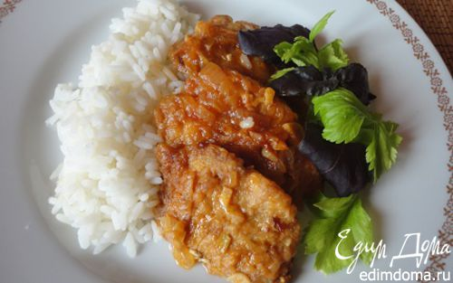 Рецепт Свинина по-древнекитайски