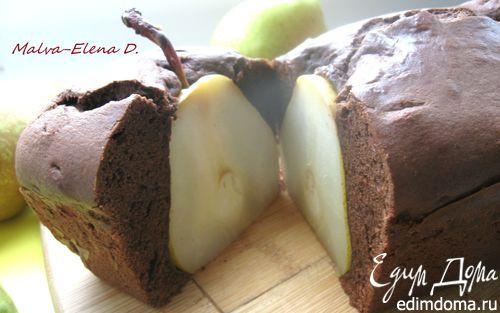 Рецепт Шоколадный кекс «Любовь дала трещину»