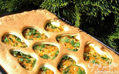 Рецепт Масляный пирог с маринованной капустой