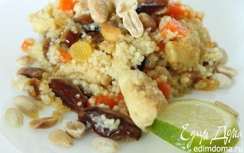 Рецепт Табуле с финиками и курица с арахисом