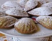Печенье «Мадлен» с фисташками