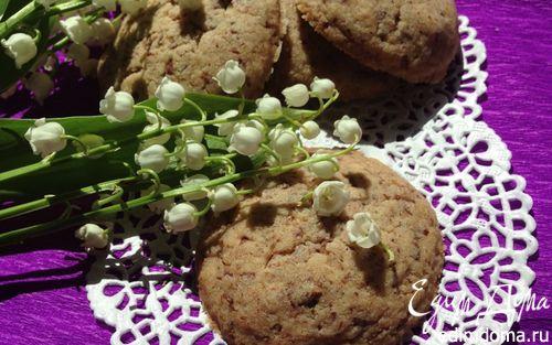 Рецепт Песочное печенье с шоколадом на крахмале