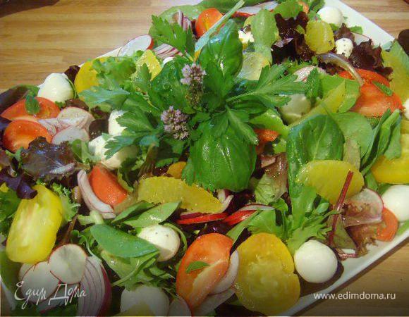 Яркий летний салат