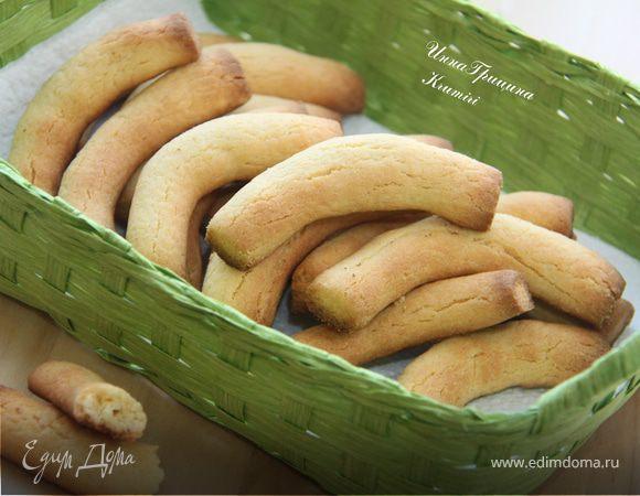 """Итальянское кукурузное печенье """"Крумири"""" («Krumiri»)"""