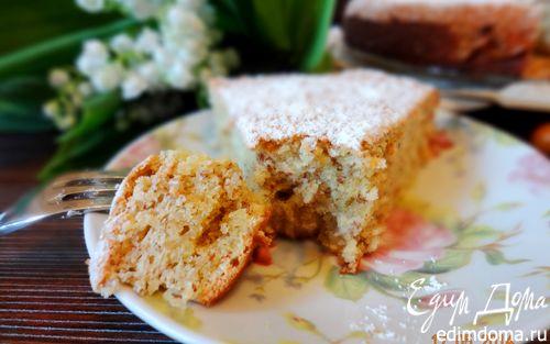 Рецепт Нежный ореховый пирог с лаймом и кокосом