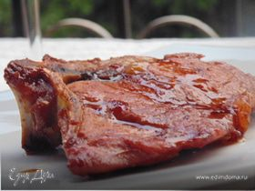 Свинина в коньячно-медовом соусе