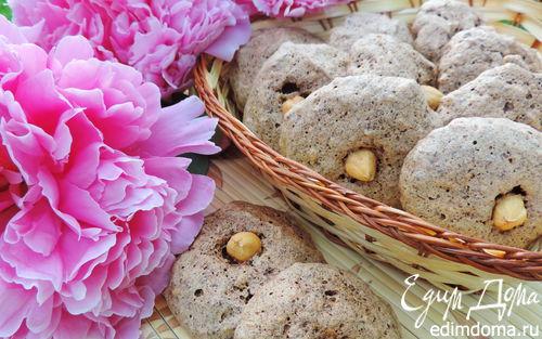 Рецепт Шоколадно-ореховое печенье (без муки)