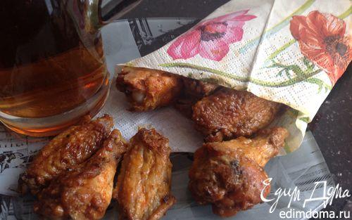 Рецепт Куриные крылышки к пиву