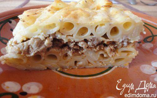 Рецепт Пастицио (запеканка из макарон с фаршем)