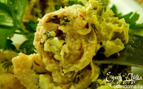Рецепт Куриные рулетики с яйцом и зеленью