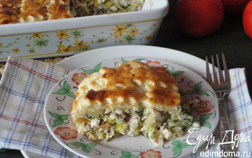 Рецепт Котопита (греческий пирог с курицей и сыром)