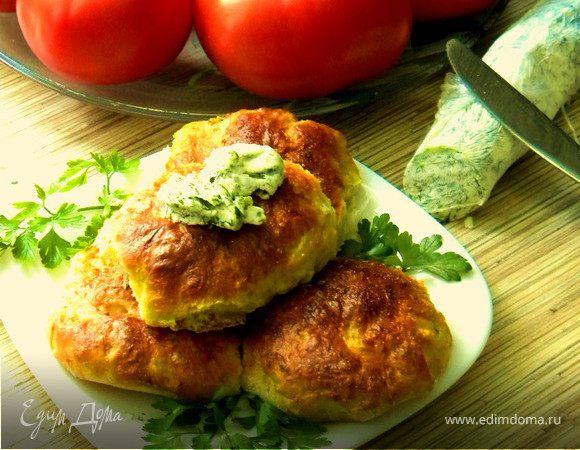 Капустные булочки с прованским маслом