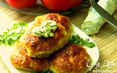 Рецепт Капустные булочки с прованским маслом