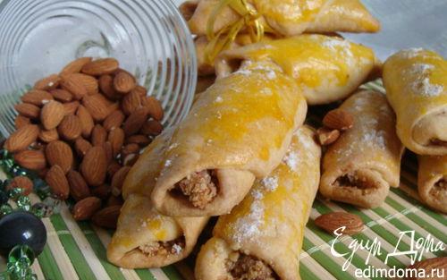 Рецепт Миндальные трубочки с кардамоном