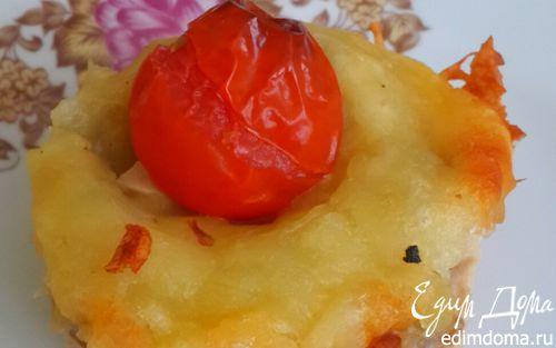 Рецепт Пирожное куриное с черри