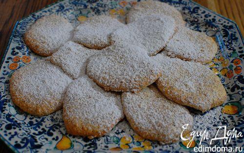 Рецепт Легкое миндальное печенье