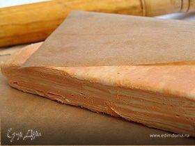 Томатное слоеное тесто