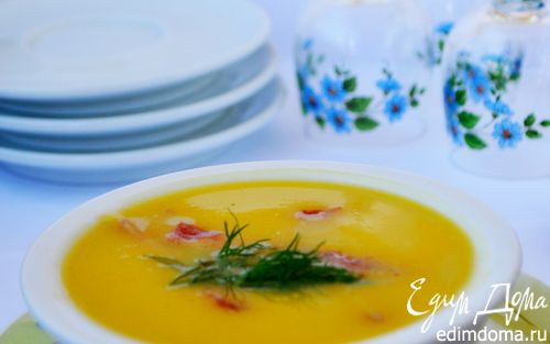 Рецепт Суп-пюре овощной с ветчиной