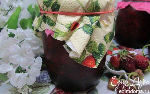 Рецепт Свежая клубника с сахаром (заготовка на зиму)